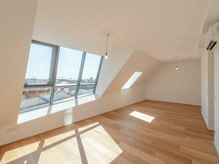 ++den AUGARTEN ums Eck++ Hochwertige 4-Zimmer DG-Maisonette! Dachterrasse mit unglaublichem WEITBLICK!! Tabor-Sky