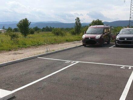 Parkplätze zu verkaufen
