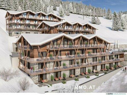 """Luxuriöse Apartments & Suites """"buy to let"""" in top Lage von Saalbach / Hinterglemm zu verkaufen"""