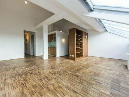 Moderne 2-Zimmer DG-Wohnung nahe zur Urania in 1020 Wien zu vermieten!