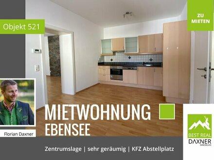 Geräumige Mietwohnung im Zentrum von Ebensee!!