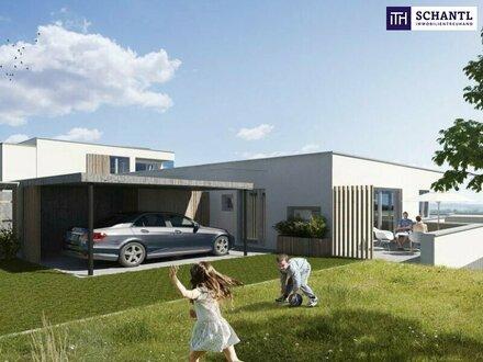ITH #ENDLICH GEFUNDEN! TOP-Haushälfte in Grünlage + atemberaubender FERNBLICK + Garten + Hochwertige Ausstattung in 8075…