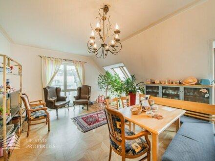 UNIKAT: Fusion von 2 sensationellen DG-Wohnung mit 6 Freiflächen in Untersievering