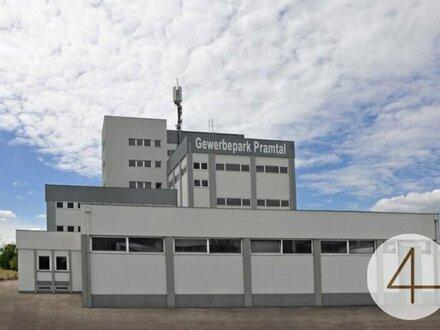 """Lager-und Produktionsstätten im """"Gewerbepark Pramtal"""" zu vermieten!"""