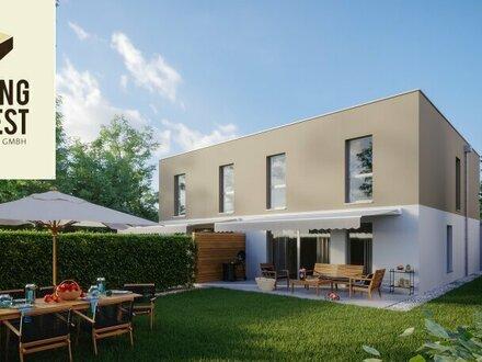 """Enns Living! Architekten Doppelhäuser """"Modul X"""" am Stadtrand von Enns! Haus 3"""