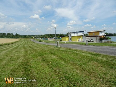 Seeliegenschaft: 38 Baugrundstücke am 9ha großen Badesee Nähe Therme Stegersbach