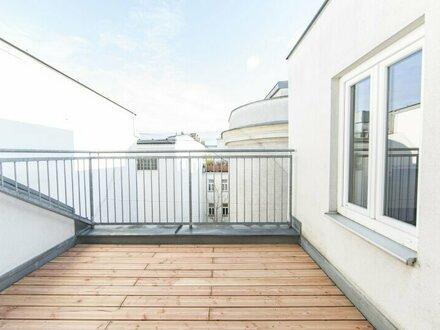 Moderne Dachgeschoss Wohnung mit Terrasse zu vermieten!