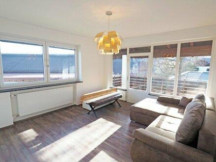 Niederalm - Teilmöblierte 3 Zimmer Wohnung mit Balkon und Garten