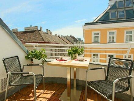 Großzügige Dachgeschoß Wohnung mit zwei Terrasse