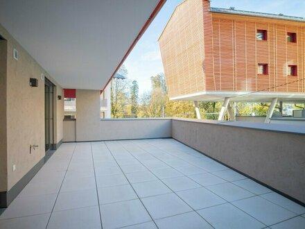 Erstbezug: Bezaubernde 2-Zimmer-Terrassenwohnung im Stadtteil Gnigl