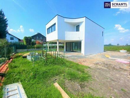 Familientraum: Bella Vita! Lebensqualität pur im neuen exklusiven Einfamilienhaus mit perfekter Raumaufteilung in der Grünruheoase…