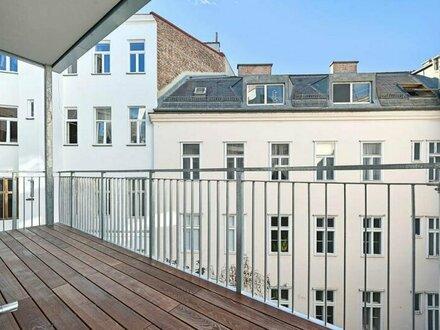 TOP-(RUHE-)LAGE: generalsanierte Altbauwohnung mit Balkon!