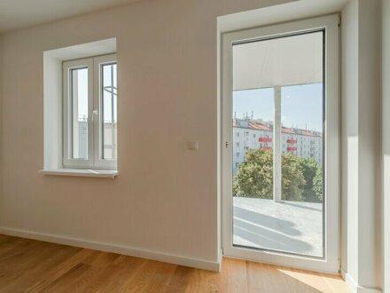 ++NEU** Hochwertiger 2-Zimmer NEUBAU-ERSTBEZUG mit hofseitigem Balkon! optimal für ANLEGER u. PÄRCHEN!
