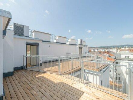 ++NEU** Hochwertiger 2,5 Zimmer DG-ERSTBEZUG, hochwertige Ausstattung, tolle Dachterrasse!