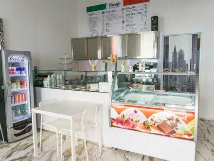 Neuer Eissalon unbefristet zu vermieten/ Verkaufen!