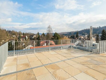 MEIN WIENERWALDBLICK - erstklassige Dachgeschossmaisonette mit herrlicher Terrasse