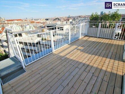 Rundumblick über Wien! Ihre Wohnungssuche endet HIER! Neue DG-Wohnung mit 3 Terrassen + perfekte Raumaufteilung + Parkplatzmöglichkeit!