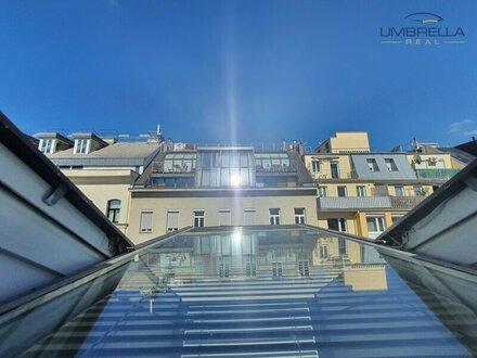 Luxuriöses Dachgeschoss Büro Direkt beim Karmelitermarkt