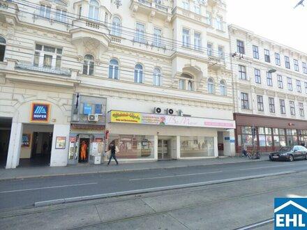Gut frequentierte Geschäftsfläche auf der Nussdorferstraße!