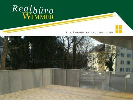 Für Sonnenanbeter - Moderne Wohnung mit 55 m² Terrasse