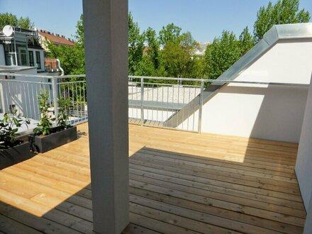 Unbefristete 62m² DG-Wohnung + 19m² Terrasse mit Terrasse - 1070 Wien