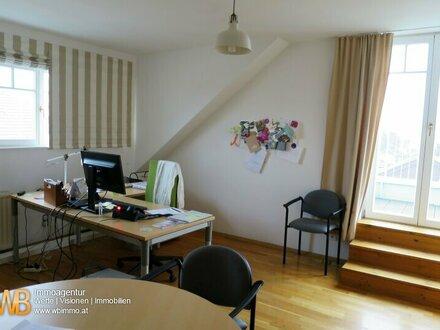 Klosterneuburg- helle 2- Zimmer-Terrassen- Mansardenwohnung mit Fernblick in Familienvilla