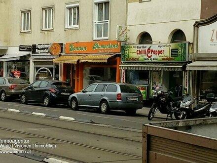 1090, Geschäftslokal in Frequenzlage Alserbachstraße (keine Gastro - sanierungsbedürftig)