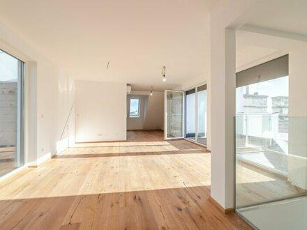 //VIDEOBESICHTIGUNG// Hochwertiges 4-Zimmer DG-Penthouse, Liftausstieg direkt in der Wohnung!! Dachterrassen mit Weitblick!!