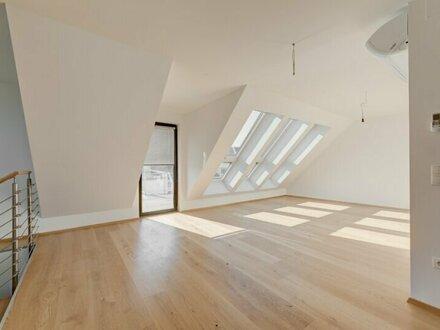 ++NEU++ Toll geschnittene 4-Zimmer DG-Maisonette mit Dachterrasse, umfassend sanierter Stilaltbau, Weitblick! **ERSTBEZUG**