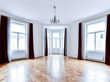 Repräsentative 5-Zimmer-Altbauwohnung, Nähe Naschmarkt