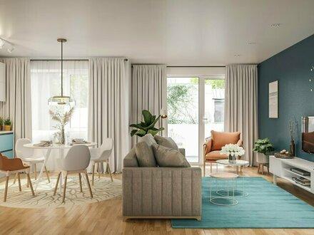 #Provisionsfrei_Bezaubernde 2-Zimmer Wohnung mit Balkon im idyllischen Stammersdorf_Die WEILAND Atmosphäre_21WG507