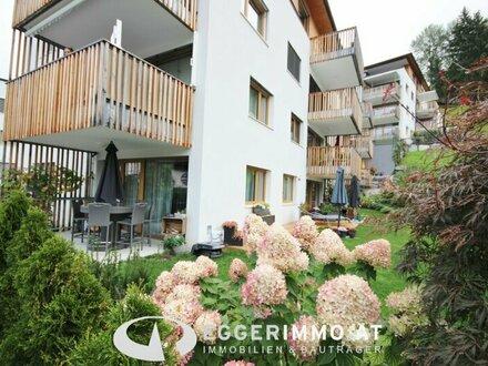 5700 Zell am See / Thumersbach; INVESTMENT: sonnige 2 Zimmer-Gartenwohnung 62m², Tiefgaragenstellplatz, teilmöbliert, neuwertig,…