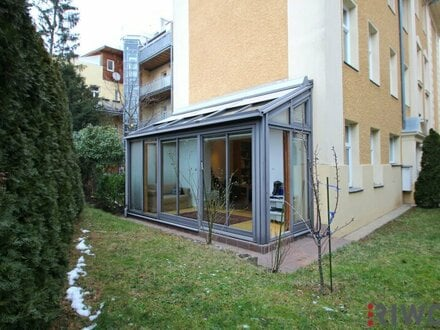 Altbauwohnung mit Garten!