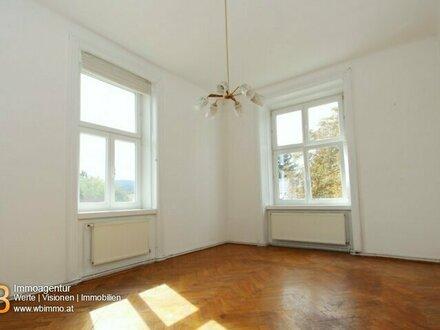sanierungsbedürftige helle 2-Zimmerwohnung in schönem Altbau direkt beim Landesklinikum Mödling