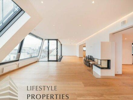 Exklusive 3-Zimmer-Dachgeschosswohnung in Rossau