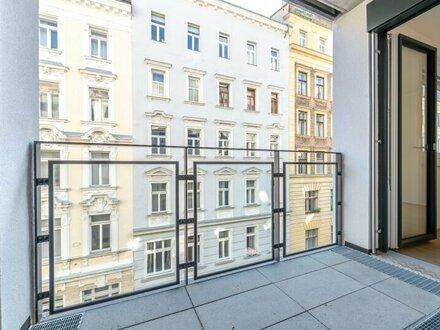 Six in the City: Premium Neubau-Apartment, BESTLAGE, 2-Zimmer ERSTBEZUG mit Loggia! ***RUHELAGE***