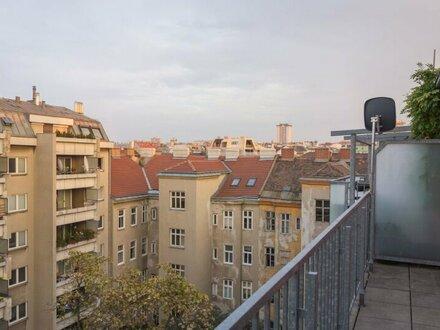 Absolute Ruhelage! Gepflegte Garconniere mit 8 m2 Terrasse in unmittelbarer Nähe beim Park am Hundsturm!