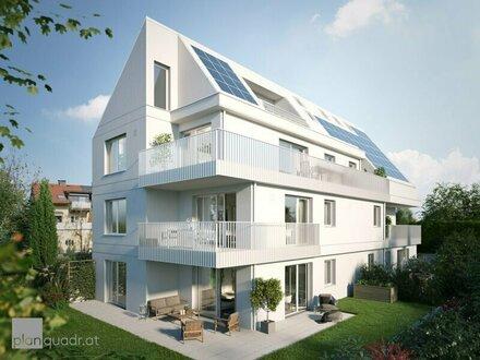 Neubau/Leopoldskron: Großzügige 2-Zimmer-Gartenwohnung mit Südterrasse
