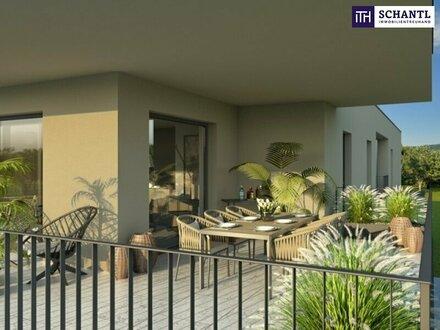 ITH FANTASTISCHE 104 m² TERRASSENWOHNUNG mit PENTHOUSECHARAKTER! ca. 32 m² SONNENTERRASSE/WEST! EXKLUSIVE BAUWEISE! FINANZIERUNGSBERATUNG