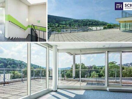 **ITH #WOW! REPRÄSENTATIVE BÜROFLÄCHE + Lichtdurchflutet + Dachterrasse + Hauseigene Tiefgarage + Klima + Modernste Ausstattung!