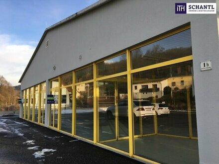 **ITH #Hoch frequentierte Geschäfts- oder Bürofläche + Top Sichtbarkeit + Großzügige Parkplätze in Kindberg - Bezirk Bruck…