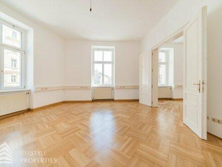 Repräsentatives 4-Zimmer-Büro mit Garage möglich, Nähe Schloss Belvedere