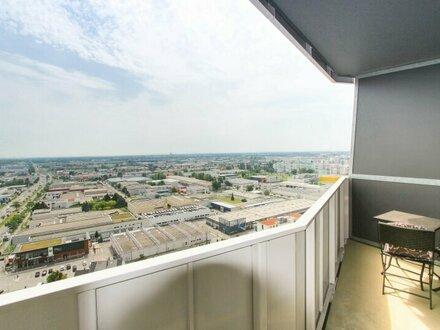 Stylische 2 Zimmer Wohnung mit Loggia und Blick über Wien