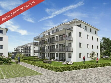 Erstbezug: 3-Zimmer-Wohnung in Mühldorf