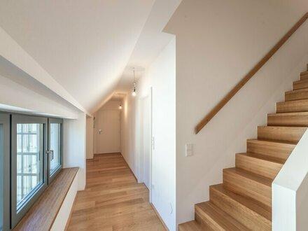 ++den AUGARTEN ums Eck++ Hochwertige 4-Zimmer DG-Maisonette! Dachterrasse mit unglaublichem WEITBLICK!