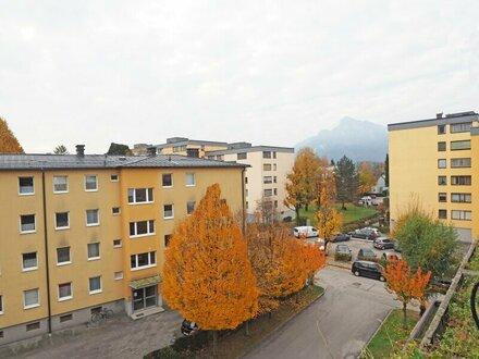 Zentral gelegene 3 Zi. Wohnung in Salzburg - Stadtteil Herrnau