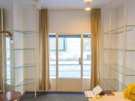 Geschäftslokal / Verkaufsraum/ Atelier / Büro, 32 m2 Geschäftslokal im 1. Wiener Bezirk!