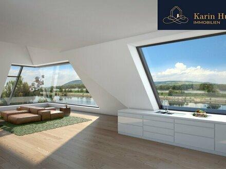Exquisites Penthouse am Donauufer