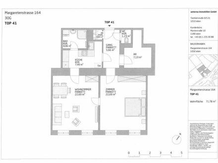 Lichtdurchflutete 2-Zimmer Altbauwohnung