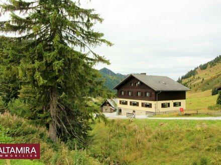 Hoch über den Tälern - zwei (derzeit Selbstversorger-) Häuser im Schi- und Wandergebiet Planneralm zu verkaufen